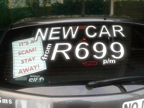 New Car Scam